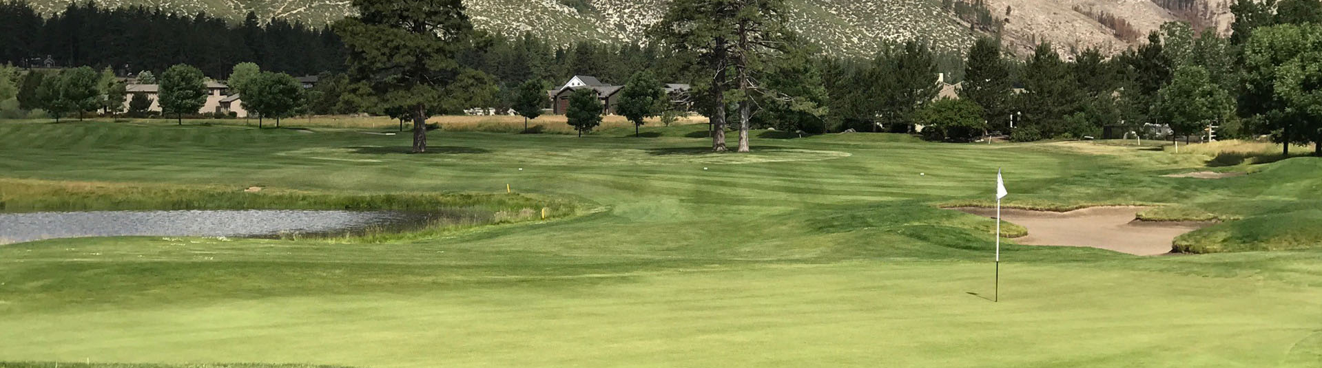A hole on the course at Toiyabe Golf Club